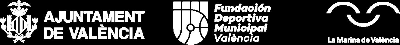 Colaboradores Ajuntament de Valencia, Fundación Deportiva Municipal y La Marina de València